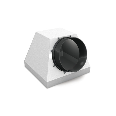 Pyramid plenum box for EG400